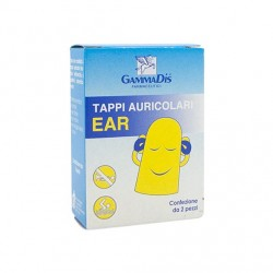 TAPPO AURICOLARE EAR 2PZ