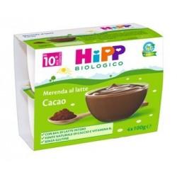HIPP BIO MER LATTE-CACAO4X100G