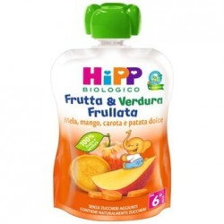 HIPP BIO FRUT&VER MEL/MA/CA90G