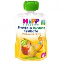 HIPP BIO FRUT&VER MEL/PE/ZU90G