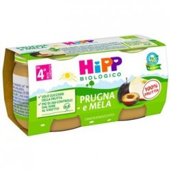 HIPP BIO OMOG PRUGNA/MELA2X80G